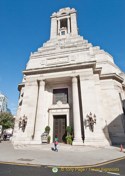 Freemasons' Hall in Great Queen Street
