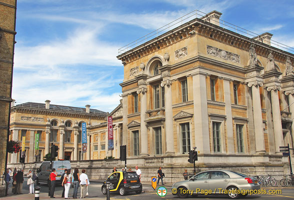 The Ashmolean Museum has one of Britain's greatest collections of fine art and antiquities