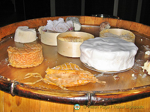 A most delicious choice of French cheeses