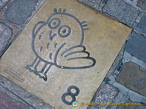 Attraction no. 8 on the Dijon Owl's Trail