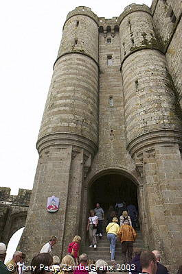 It had its greatest influence in the 12th and 13th centuries [Mont-St-Michel - France]
