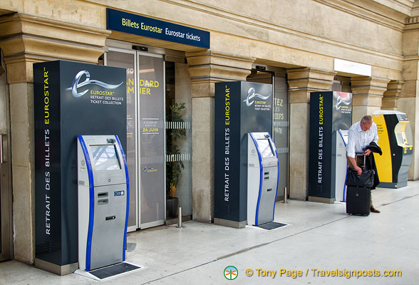 eurostar ticket office at gare du nord. Black Bedroom Furniture Sets. Home Design Ideas