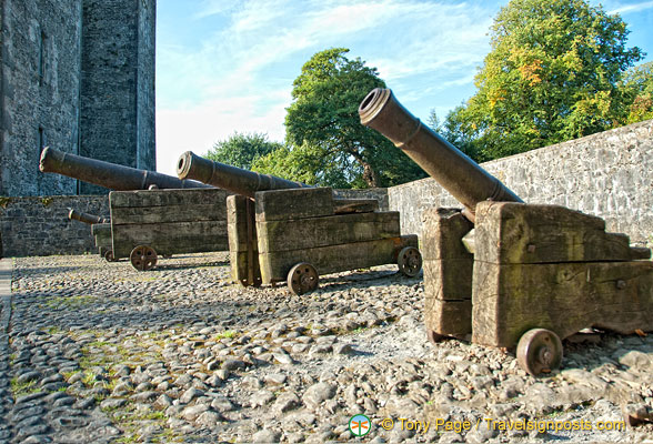 Some castle canons