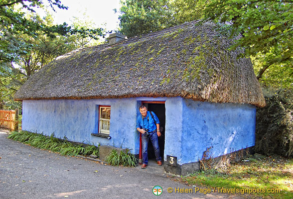 Cashen fisherman's house - see how small the door is