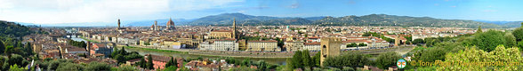 Florence panorama from Piazzale Michelangelo