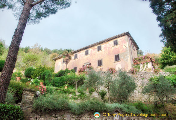 Bramasole, Frances Mayes' house in Cortona