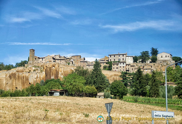 View of Orvieto town