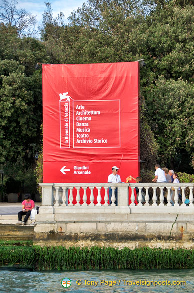 A poster for the Biennale