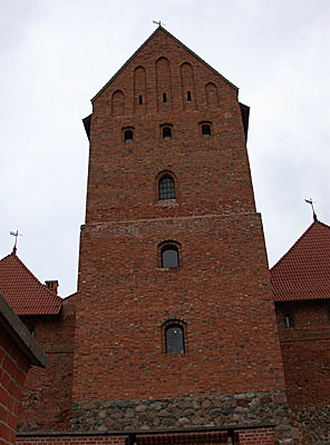 Donjon (tower) of Trakai Ducal palace