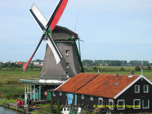 One of the windmills st Zaanse Schans