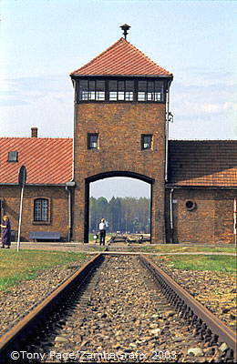 "Auschwitz II-Birkenau ""Gate of Death"""