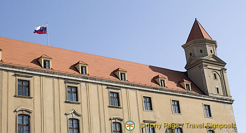 Pálffy Palace now part of the City Gallery of Bratislava