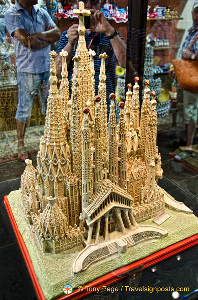 Model of Sagrada Familia