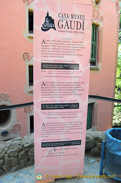 About Gaudi's House