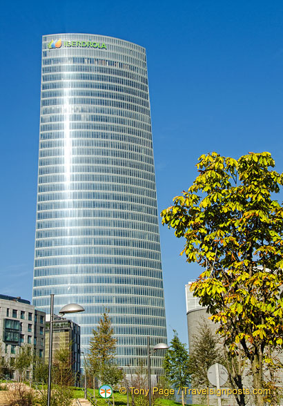 HQ of Iberdrola, the No. 1 energy company in Spain.