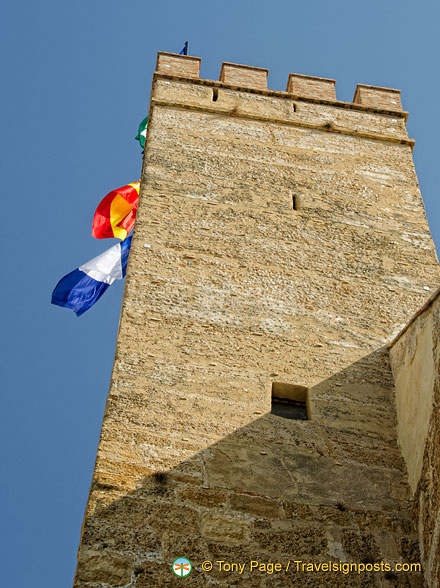 Watch tower of the old Alcazar