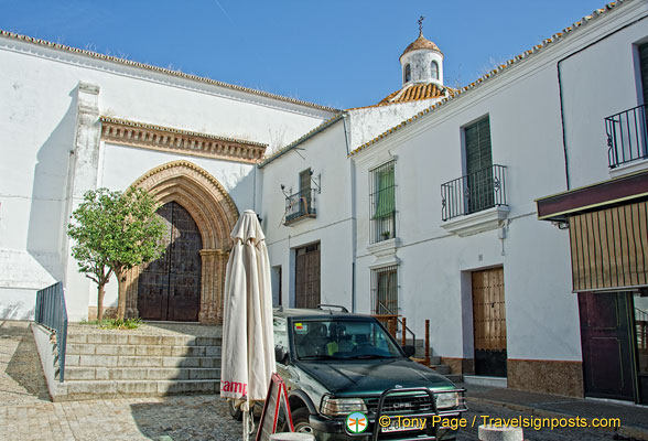 Church of San Bartolomé in Carmona