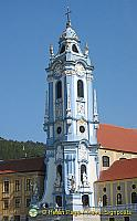 The Stiftskirche has one of Austria's finest baroque towers