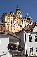 [Melk village - Melk Benedictine Abbey - Austria]