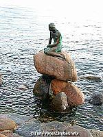 The Little Mermaid, Copenhagen -- and it is little