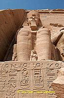 The Temple facade was buried in sand for centuries.