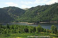 These two pretty villages are on the shores of two sparkling lakes The Lake District - England