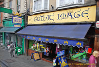 Gothic Image on High Street is a specialist book publisher.