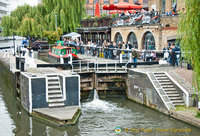 Manually-operated Camden Lock