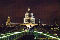 St Paul's Cathedral from the Millenium Bridge