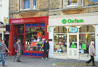 Flaggs and Oxfam