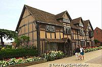 Shakespeare's house in Stratford [Stratford-upon-Avon - England]