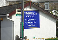 An ad for Merlin's Cave