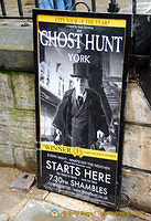 Ghost Hunt is one of York's many bizzare walks