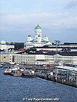 View of Tuomiokirkko from the water
