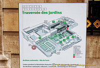Map of the Archives Nationales complex