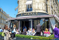L'Avenue restaurant at 41 Avenue Montaigne