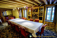 Private dining room at Le Procope