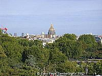 Les Invalides - commissioned in 1670 by Louis XIV for his wounded and homeless veterans