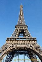 324-metre high Eiffel Tower