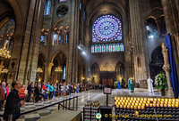 Service at Notre-Dame Cathedral