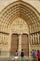 Central portal - Portal of the Last Judgement