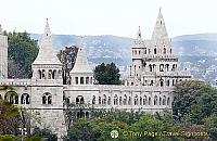 Budapest Castle Hill and the Fishermans Bastion