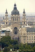 St Stephen's Basilica named in honor of the first King of Hungary, Stephen I