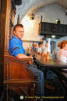 Tony enjoying the Earl of Thomond's seat