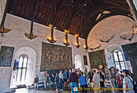The Great Hall of Bunratty Castle