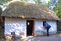 Bothan Scoir, a single-room dwelling of a poor landless labourer