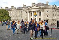 Trinity College is a popular tourist attraction