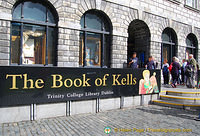 See the Book of Kells at the Old Library