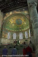 The magnificent bowl vault apse