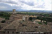The medieval town of Assisi is heir to the legacy of St Francis who is buried in the Basilica di San Francesco